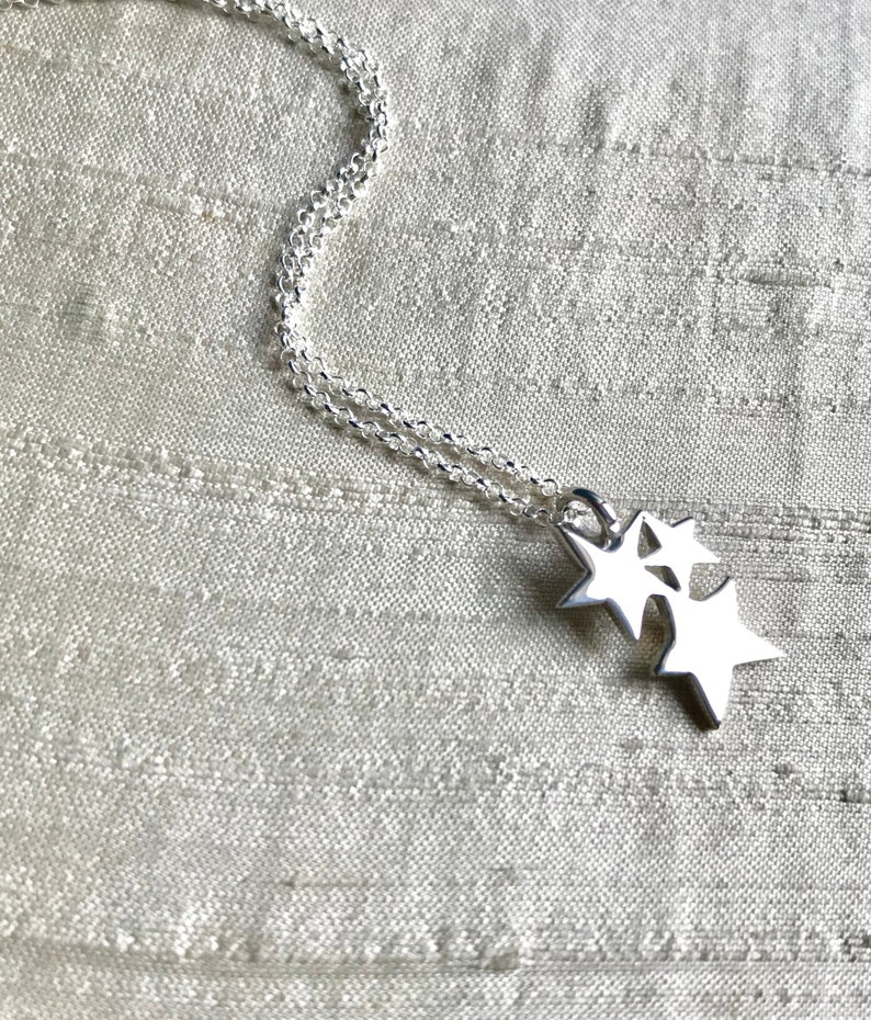 The Starlight Pendant in Sterling Silver image 0