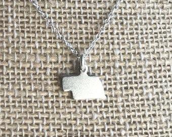 Tiny Nebraska Necklace