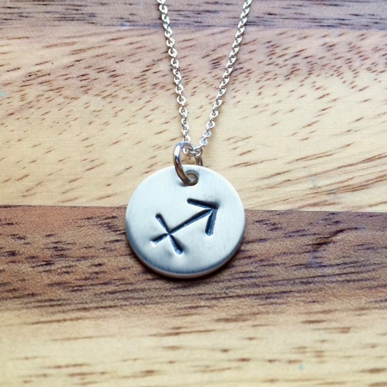 Zodiac Sign Sterling Silver Charm  1/2  inch-Aries image 0