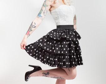Stars Ruffle Skirt, Made to Measure.