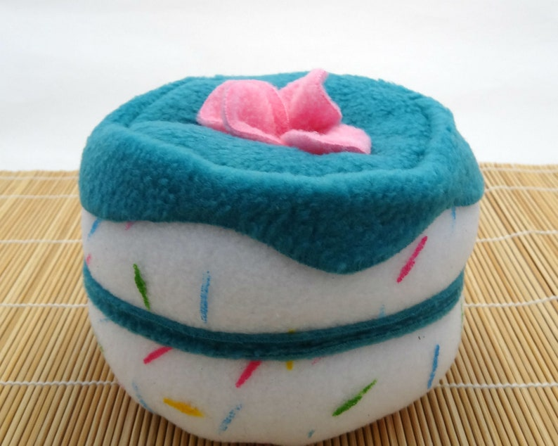 Squeaky Dog Birthday Confetti Cake