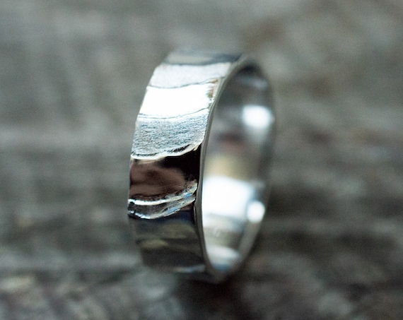 Cuttlebone Flow Ring