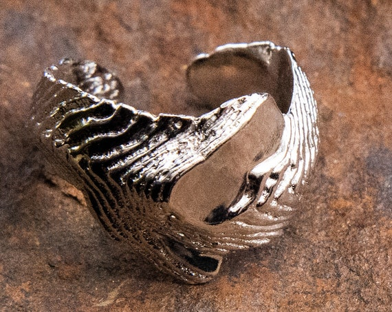 MR53 - Cuttlebone Contrast Ring