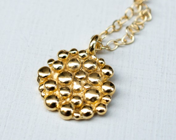 Caviar Cluster Necklace