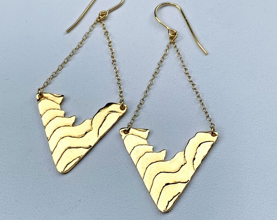 Cuttlebone Torrent Earrings