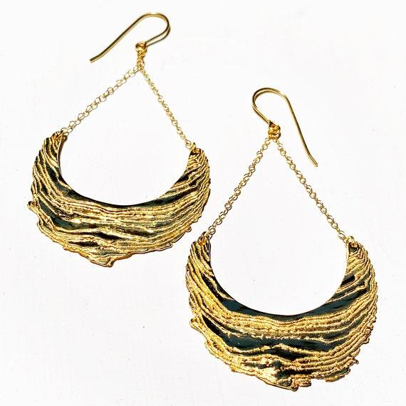 Cuttlebone Beach Earrings