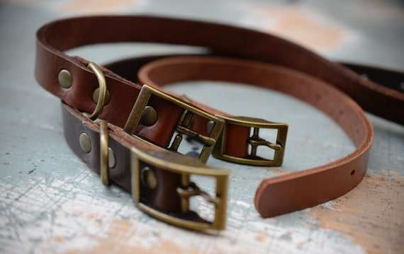 MDC01 - Leather Dog Collar
