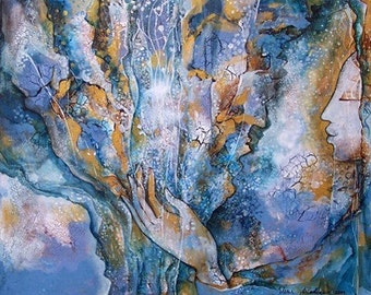 Original Painting, Healing
