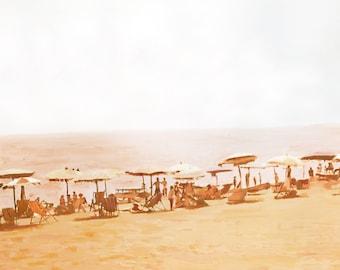 Orange Hazy Beach