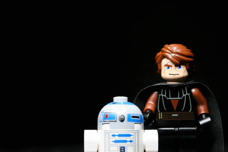 ANAKIN AND R2D2  Photograph  Various Sizes image 0