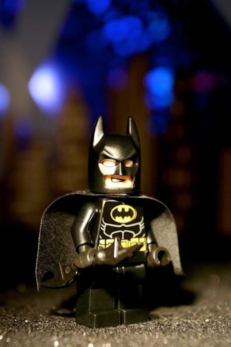 Batman Lego  Photograph  Various Sizes image 0