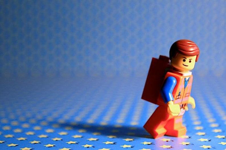 Emmet Lego  Photograph  Various Sizes image 0