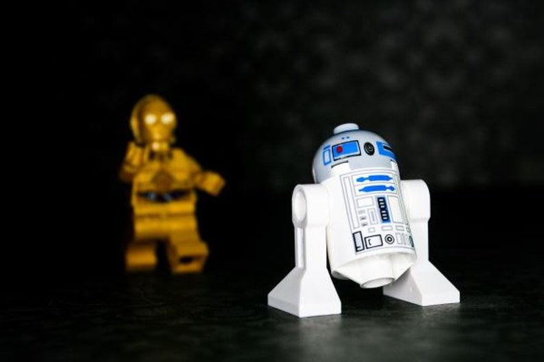 R2D2 Come Back...  R2D2 & C3PO  Photograph  Various Sizes image 0