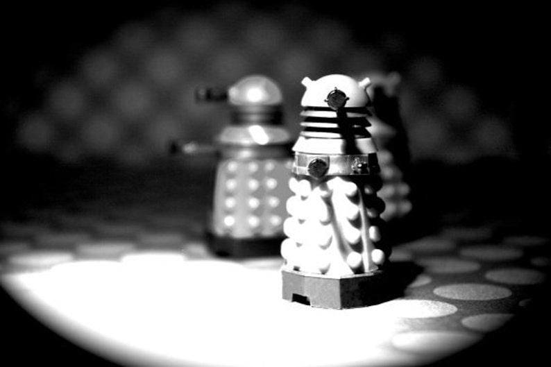 EXTERMINATE EXTERMINATE EXTERMINATE  Dalek  Photograph  image 0
