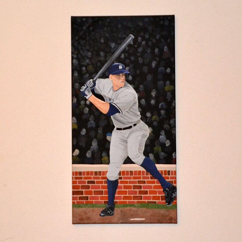 a5856cd292c New York Yankees Aaron Judge Painting