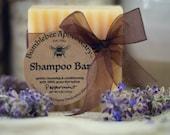Tallow Shampoo Bar with Organic 100 Grass-fed Tallow