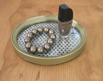 WOODEN VANITY TRAY, Oval Vanity Tray,Housewarming Gift, Dresser Tray,Vanity Tray,Entryway Decor,Dresser Perfume Tray,Small Ring Dish,Jewelry