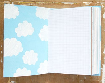 Destination Unknown - Travel Journal - A5 Mixed Paper Journal - Wedding Guestbook