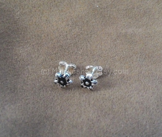 x5 925 Sterling Silver 2mm Straight Pin Ball Nose Studs