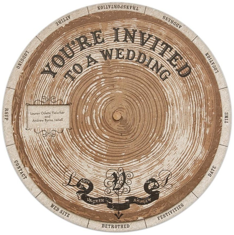 Wedding Wheels invitation templates image 0