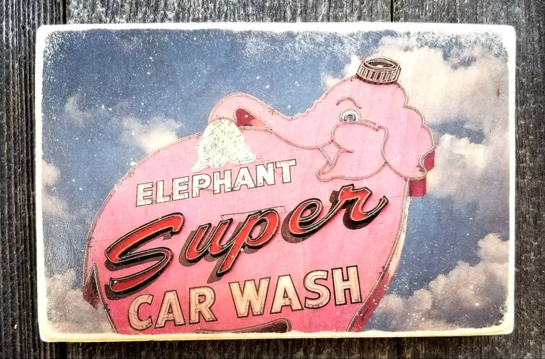Private Listing Pink elephant car wash image 0