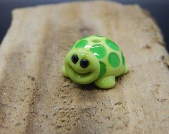 Turtle,  Lampwork Bead, Simply Lampwork by Nancy Gant, SRA G5