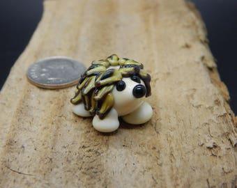 Hedge Hog, Lampwork Bead, Simply Lampwork by Nancy Gant, SRA G5