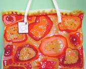 SALE SALE SALE Bag Crochet Freeform ARANCIA BAG
