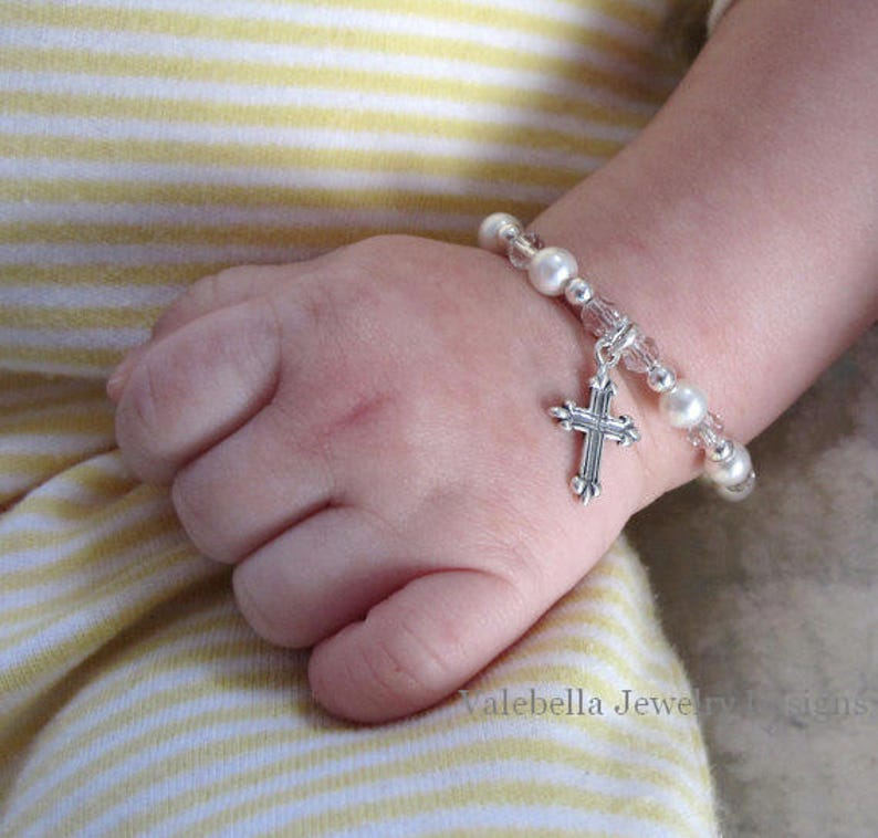 Light of Jesus Cross Pacifier Clip Paci Soother Mam Nook Binky Holder baby shower gift Baptism Christening white Catholic LOOP OR SNAP