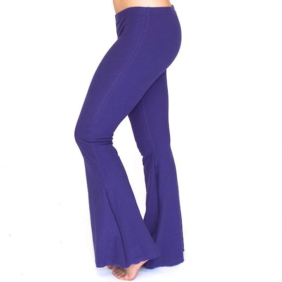 Womens Yoga Pants Dancewear Simple Pants Bootcut Pant Etsy