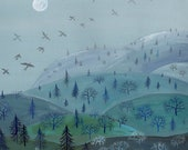 A Winter View - Print