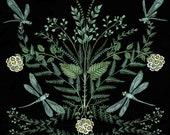 Dragonfly Foliage - Print