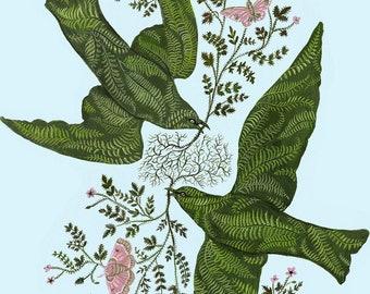 Fern Birds - Print