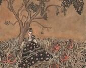 Under the Oak Tree - Print