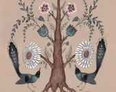 Tree Flora - Original Painting