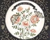 Little Wild Rose - Original Painting