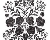 Wildflower Gathering - Print