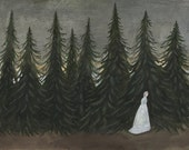 Along the Pines - Original Painting