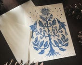 Winter Tree Note Card