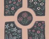 Ornamental Garden - Original Painting