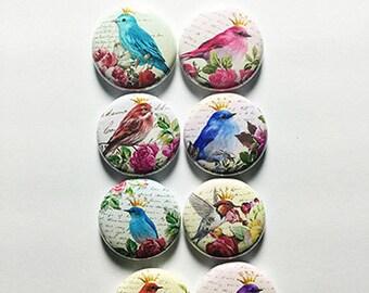 Vintage Birds Flair