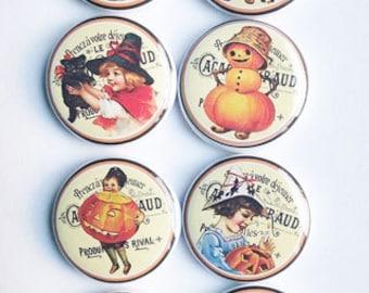 Very Vintage Halloween Flair