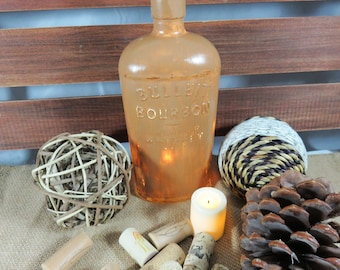 Upcycled Bottles, Home Decor, Hand Painted, Fairy Lights, Housewarming Gift, Gift for Her