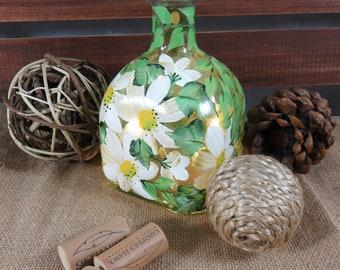 Decorative Bottles, Home Decor, Light Up Bottles, Bottle Decor, Gifts for Birthdays, Friends Gift