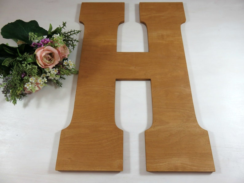 Wood Wedding Letter  Wedding Decor Wall Hanging  Letter Big image 0