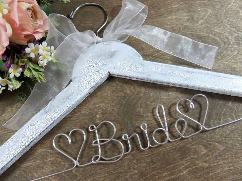 Bride  Hangers  Bridal Hangers  Wedding Dress Hangers  image 0