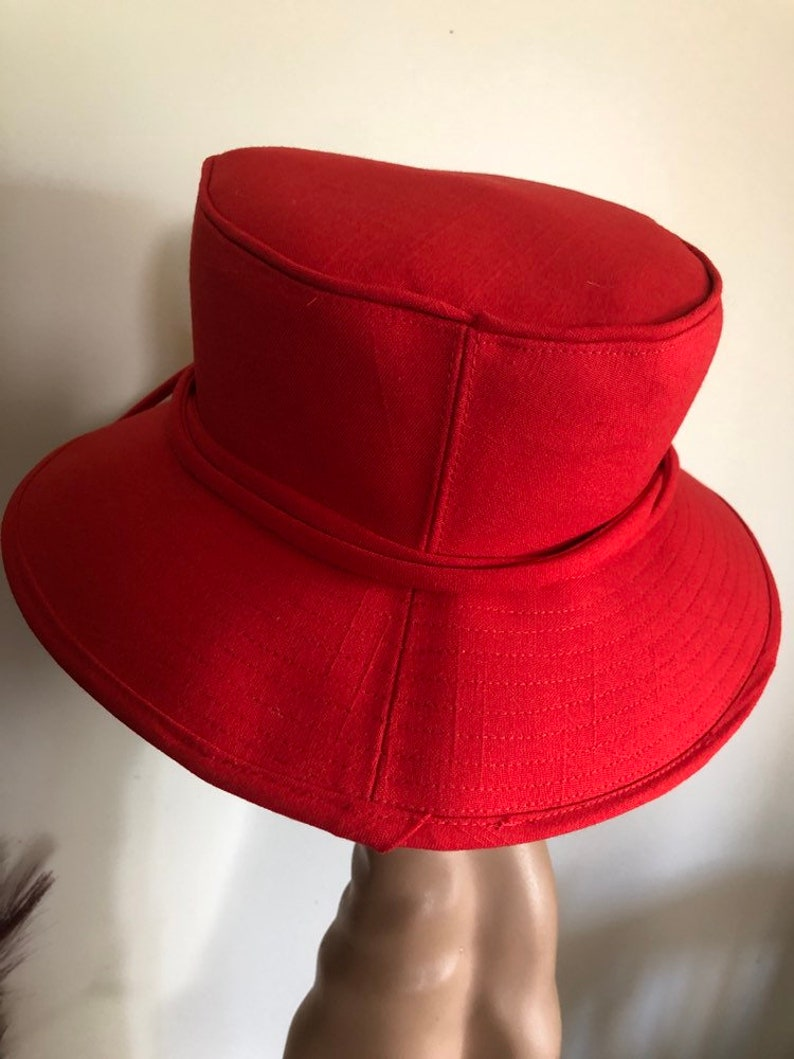 Country hat in red
