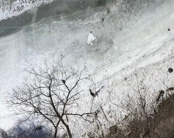 mississippi ice viii : unframed giclée print