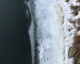 mississippi ice x : unframed giclée print