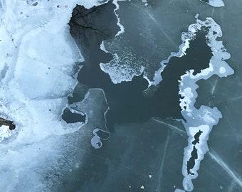 mississippi ice ix: unframed giclée print